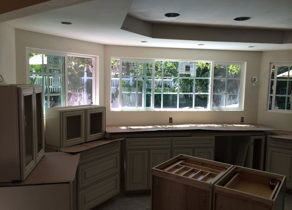 During : Kitchen Remodel and Custom Cabinets in San Diego