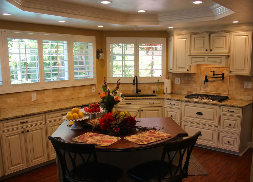 After : Kitchen Remodel and Custom Cabinets in San Diego
